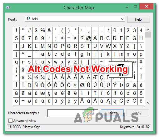 Wie behebt man ALT-Codes, die unter Windows 10 nicht funktionieren?