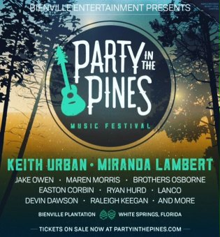 Party In The Pines White Springs FL 2017