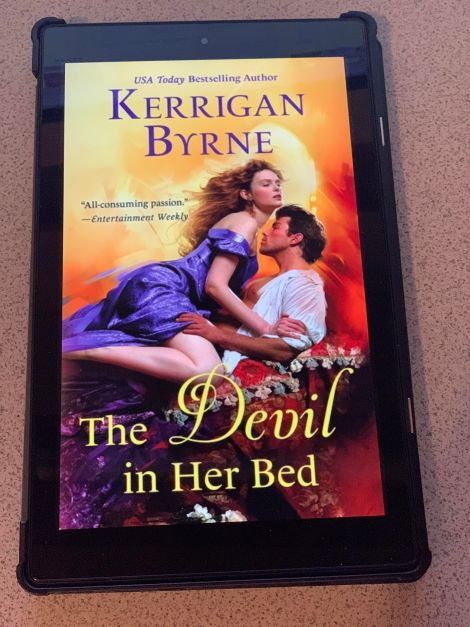 The Devil in Her Bed ARC by Kerrigan Byrne
