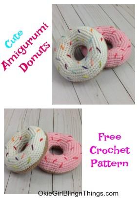Ravelry: Amigurumi Donut pattern by Croby Patterns | 407x285