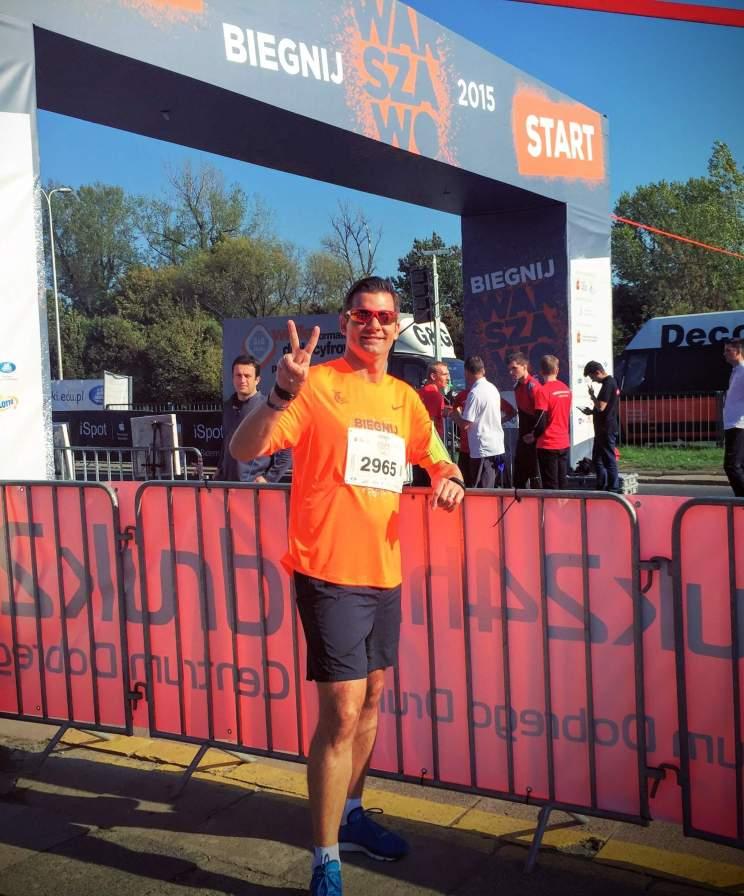 Biegnij Warszawo - Start
