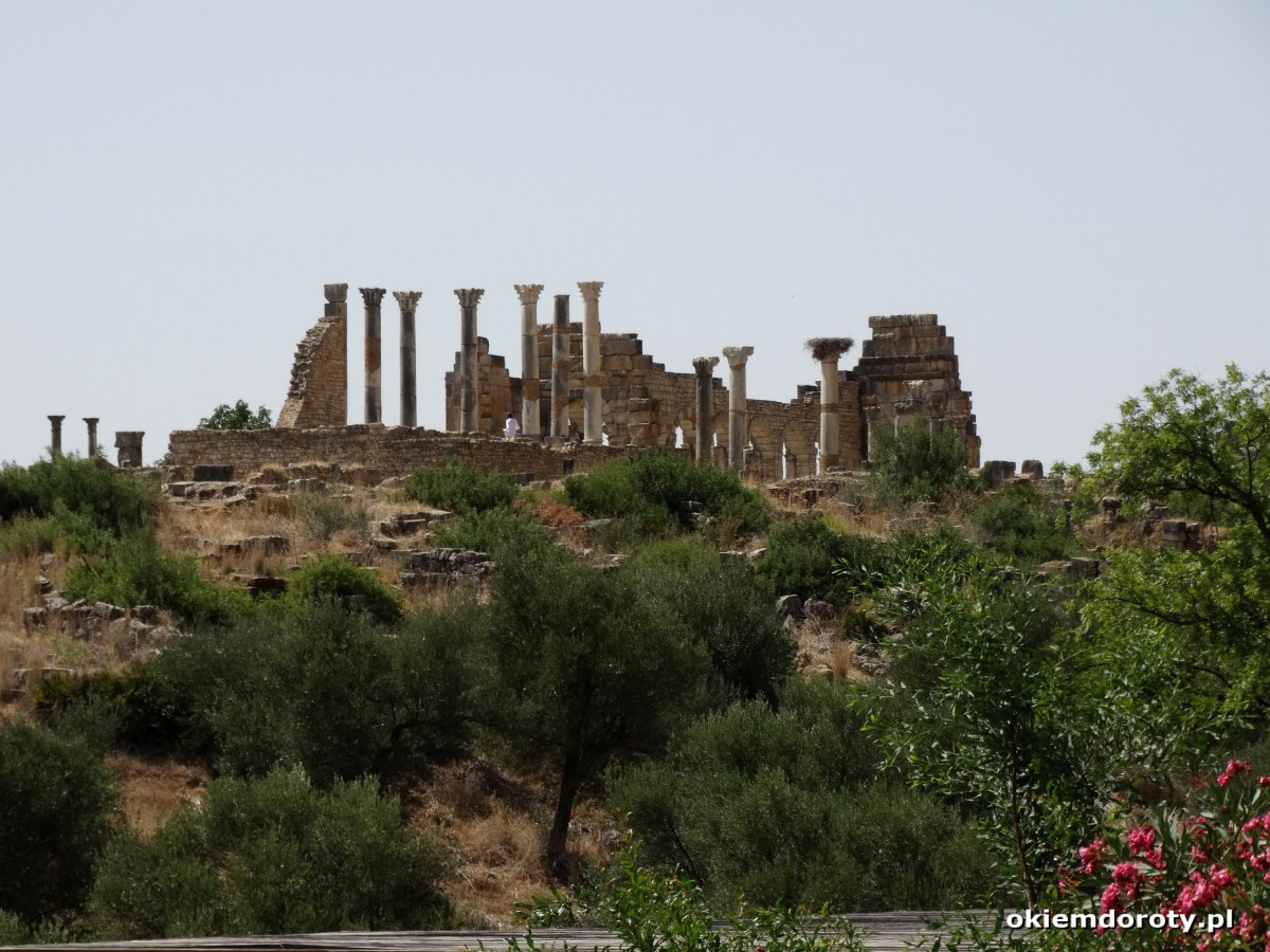 Volubilis i Moulay Idris