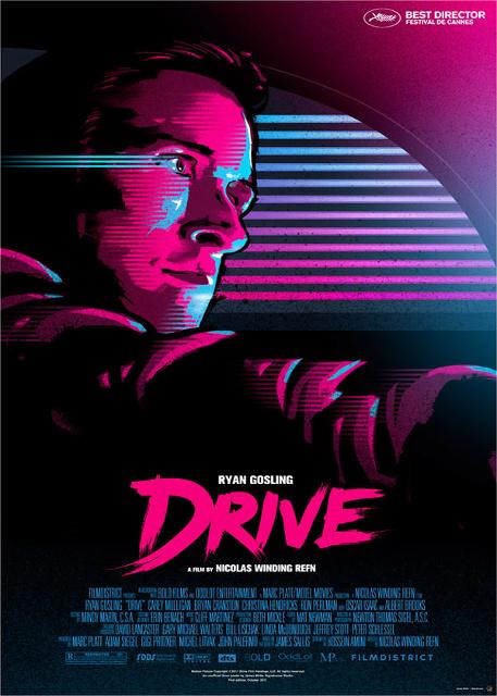 Alternatywne plakaty filmowe - Drive (2011)