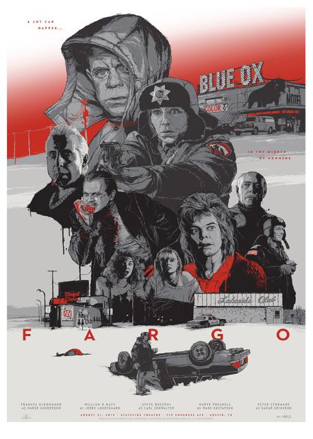 Alternatywne plakaty filmowe - Fargo (1996)