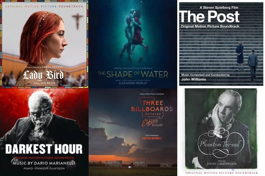 Muzyka filmowa Oscary 2018