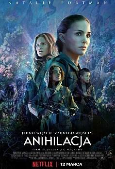 Anihiliacja (2018) - plakat