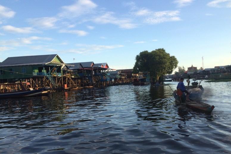 pływające wioski w Azji