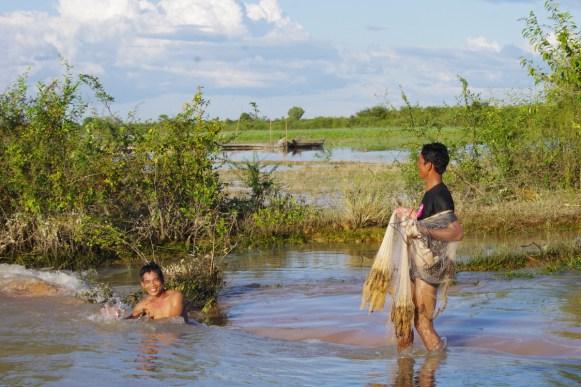 okolice Tonle Sap, Kambodża