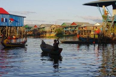 życie w Kampong Phluk