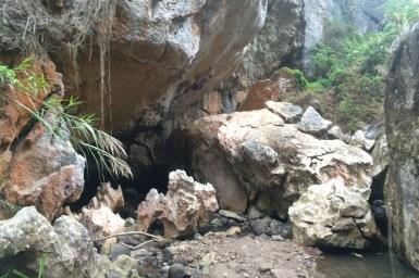 Sagada, w drodze do podziemnej rzeki