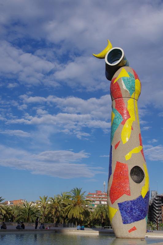 Kobieta i Ptak, Joan Miro, Barcelona