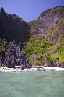 Secret Lagoon at El Nido, Palawan.