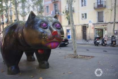 kot z Raval autorstwa Fernando Botero