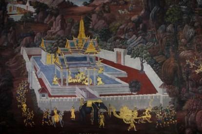 kompleks pałacowy - Bangkok