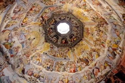 zdobienia kopuły, katedra Duomo, Florencja