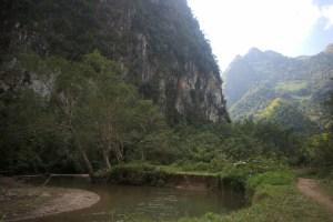 okolica jaskiń Pha Tok, Nong Khiaw