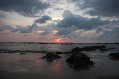 zachód Słońca w Khao Lak