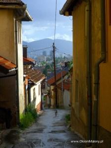 Sarajewo, urokliwe wąskie uliczki