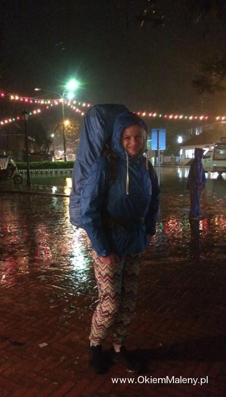 deszczowe Luang Prabang i ja