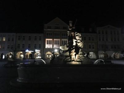 Trutnow, fontanna na rynku