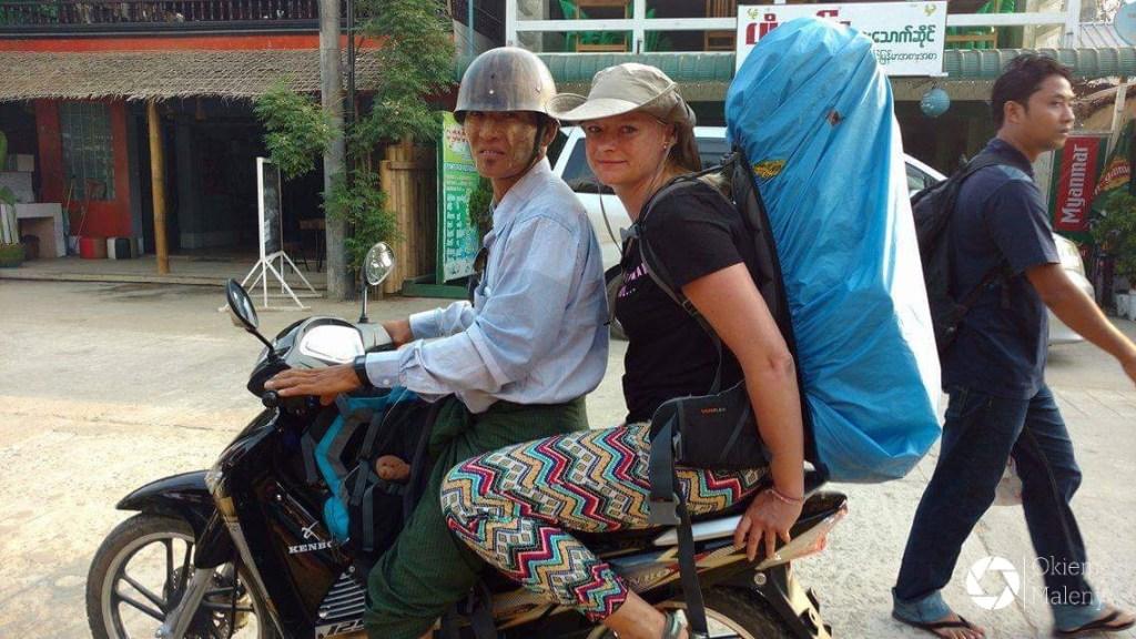 miejska taksówka, Ngwe Saung, Birma