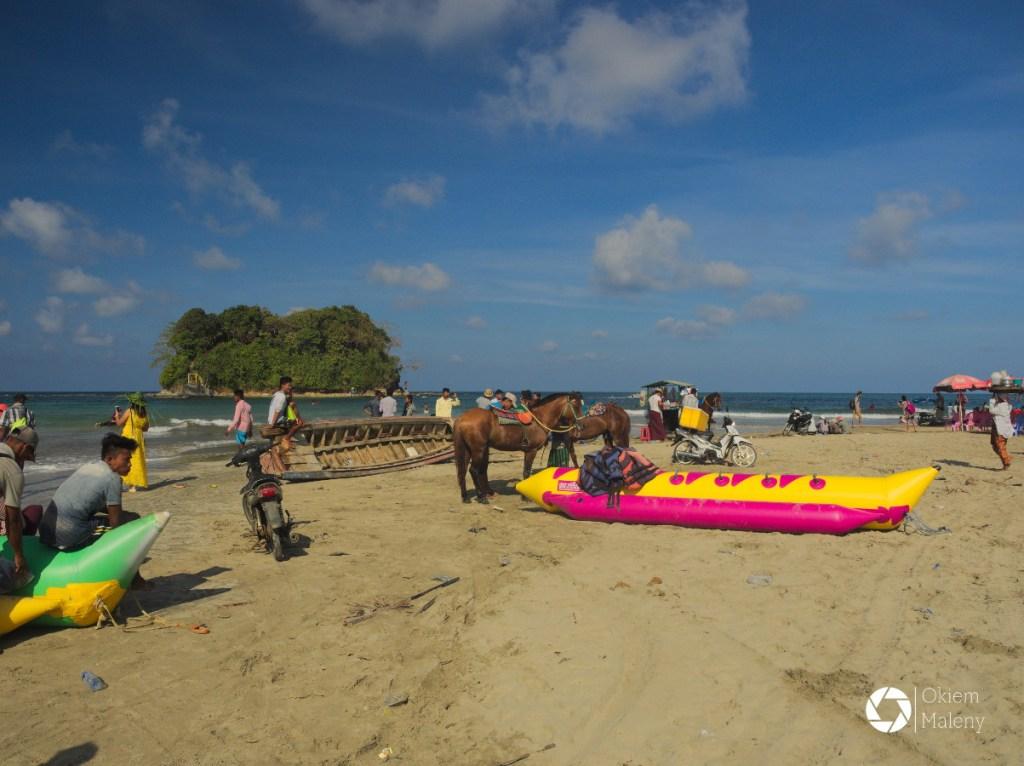 w oczekiwaniu na snorkeling, Ngwe Saung