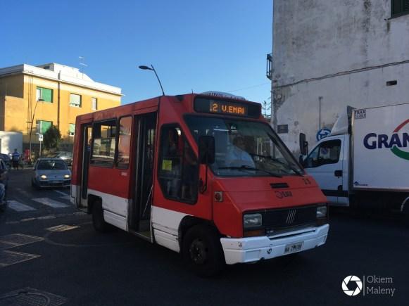 Procida, zaczarowany autobus