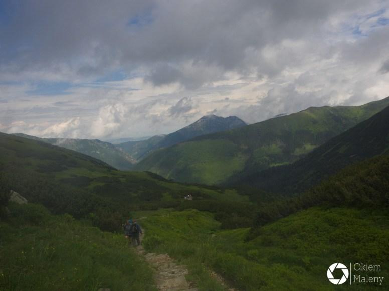 zejście z Zawracia do Doliny Chochołowskiej