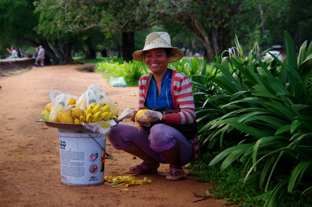 Kambodża, przepyszne owoce