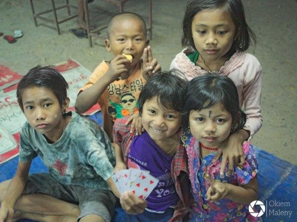 Birma, dzieci