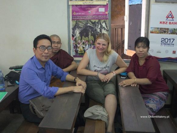 szkoła Angielksiego w Rangunie w Birmie
