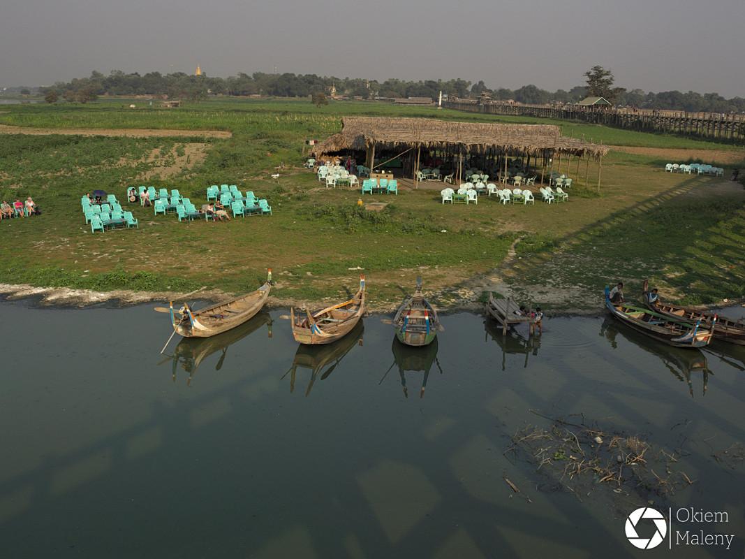 U bein bridge Okiem Maleny Birma