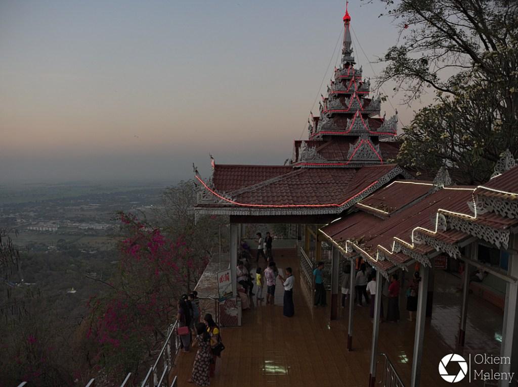 Wzgórze Mandalaj Okiem Maleny Birma