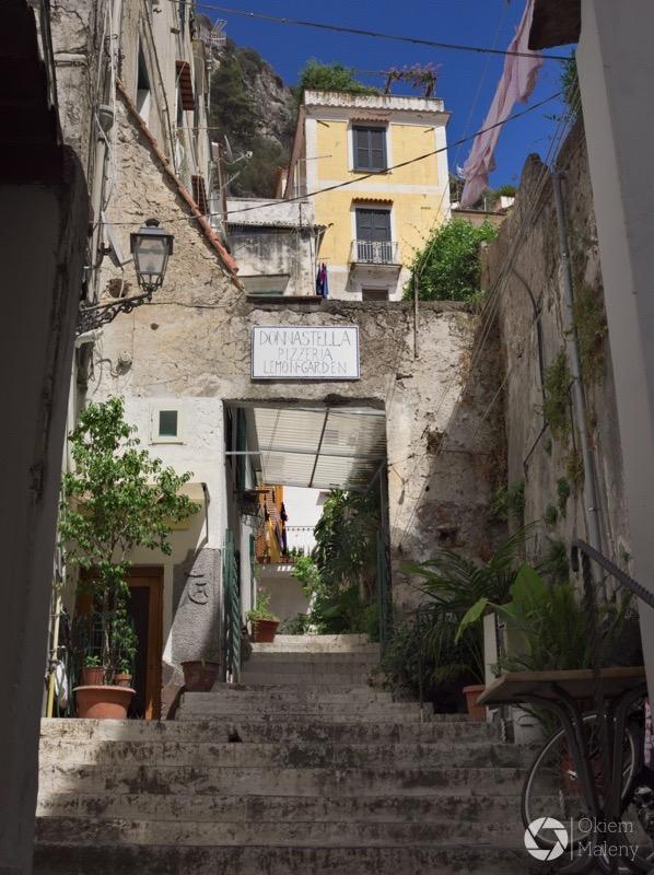 amalfitańskie uliczki