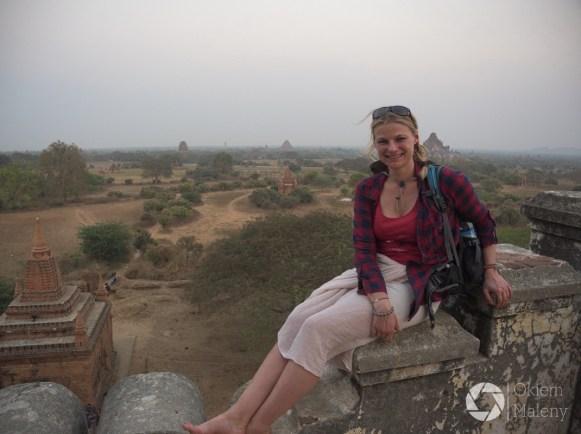 Widok na Bagan