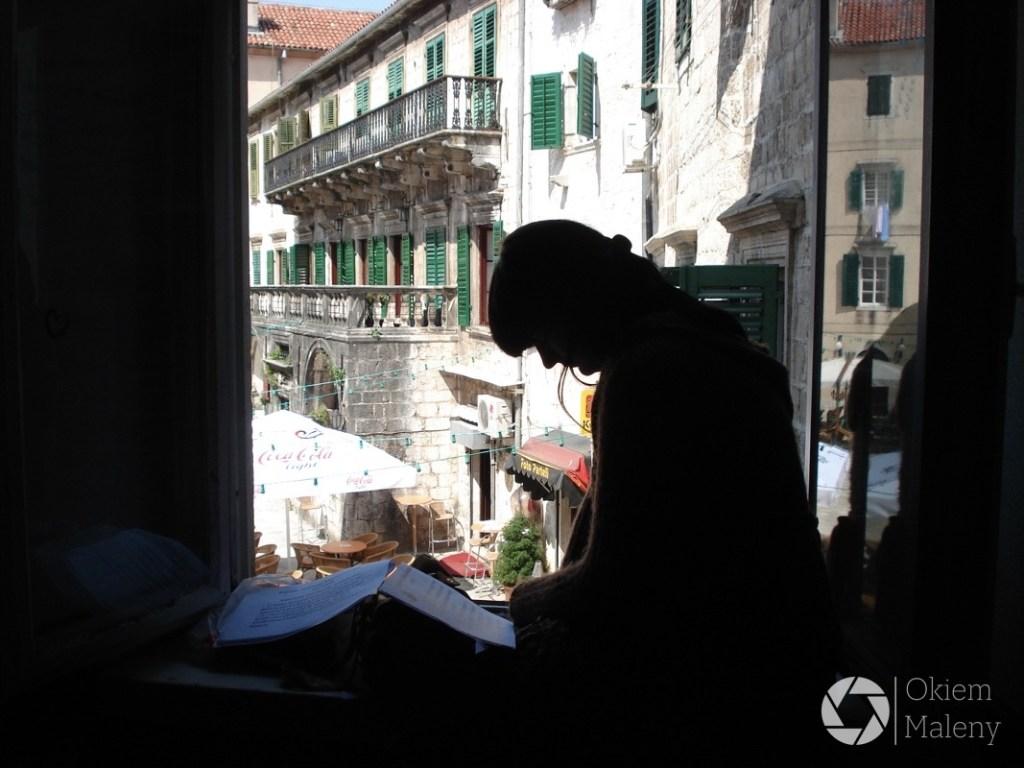 Ostatnie powtórki, przed egzaminem w Kotorze na przewodnika