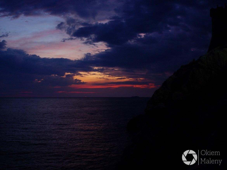 Dubrownik, zachód słońca
