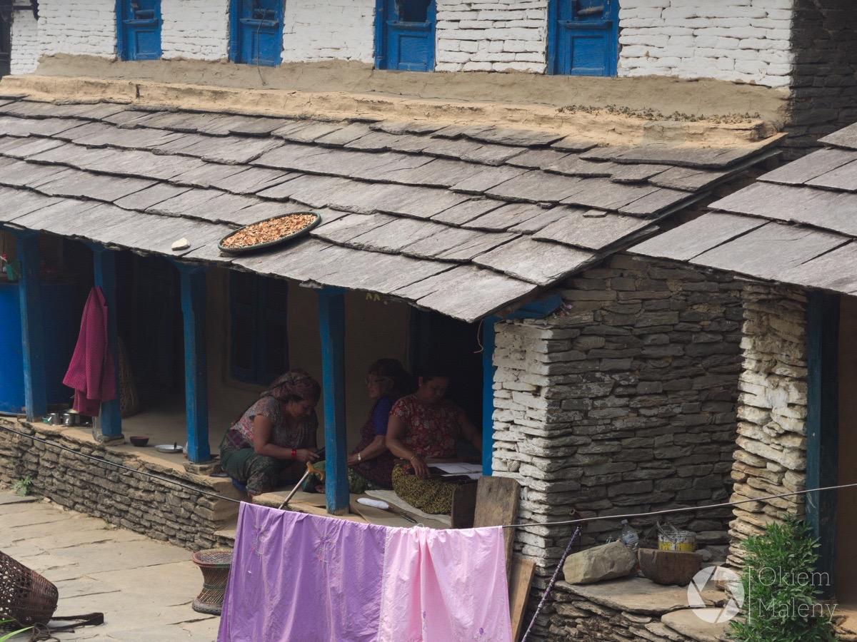 typowy newarski dom