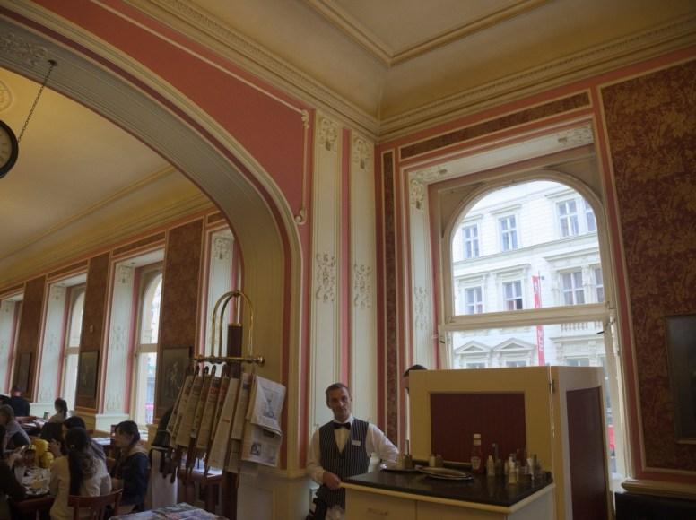 Praga, Cafe Louvre