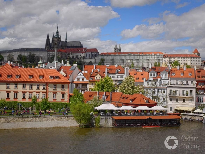 Praga, widok na Hradczany