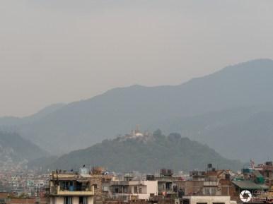 panorama Katmandu w Nepalu