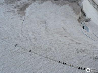 lodowiec, punta helbroner