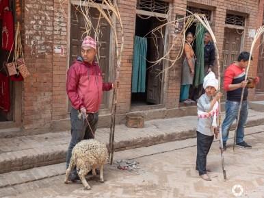 Bhaktapur , hinduskie uroczystości