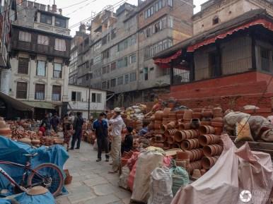 ulice Katmandu