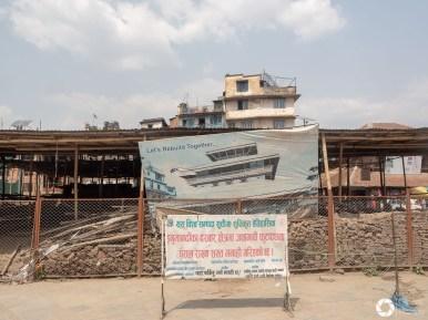 Katmandu w ruinach