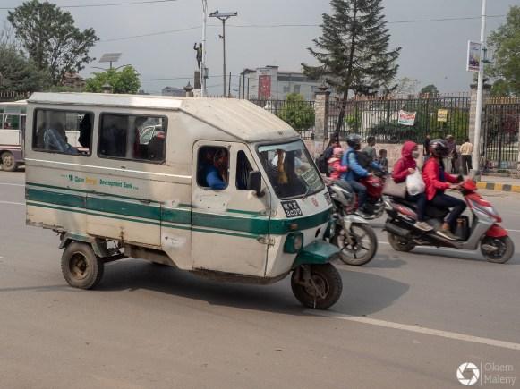 pojazdy w Nepalu
