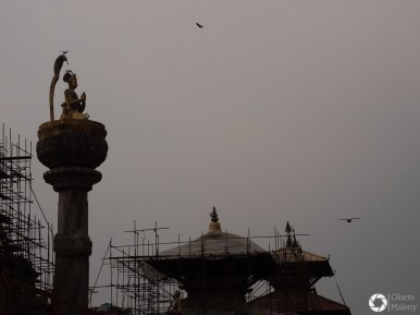 Patan, deszczowe dnie