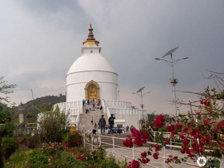 Stupa pokoju, Nepal, Pokhara