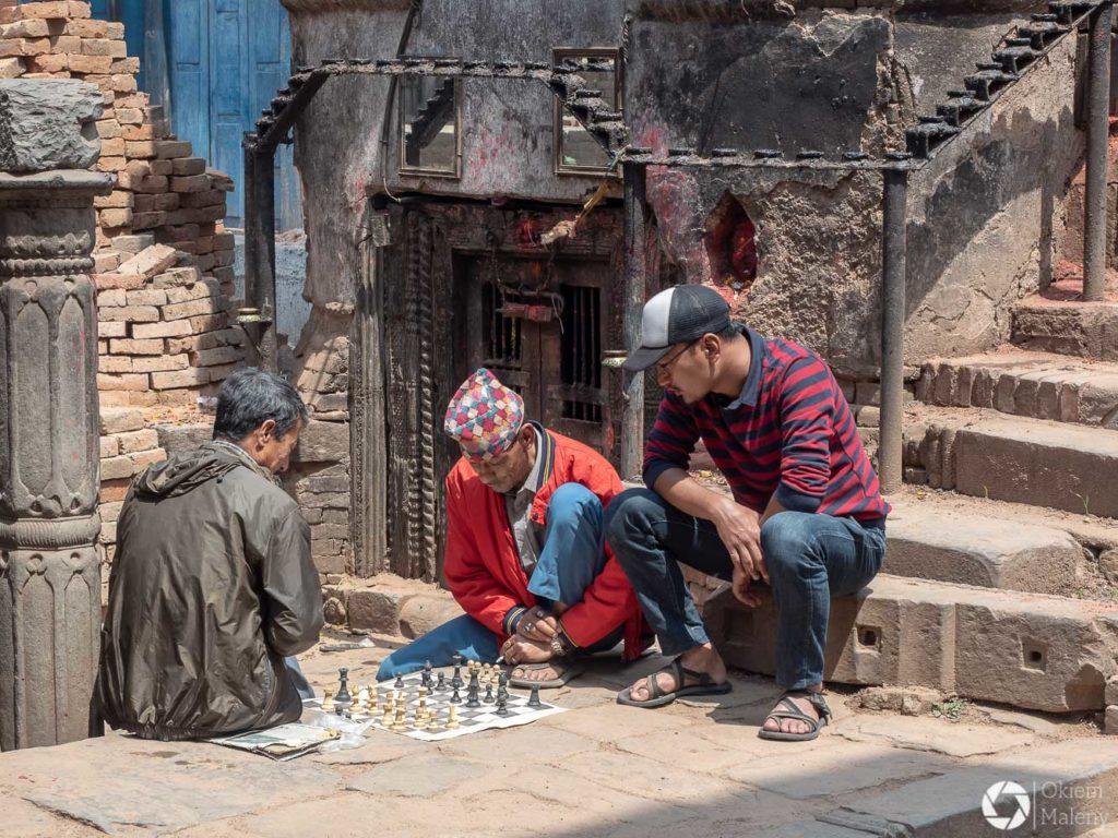 szachiści z Nepalu