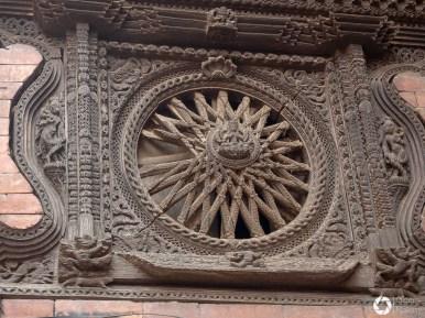Bhaktapur, newarskie zdobienia